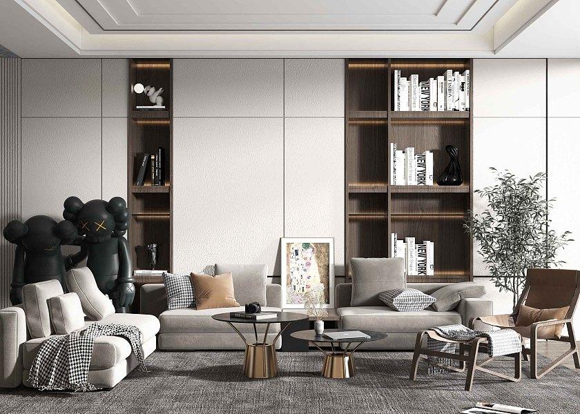 现代客厅-1009123