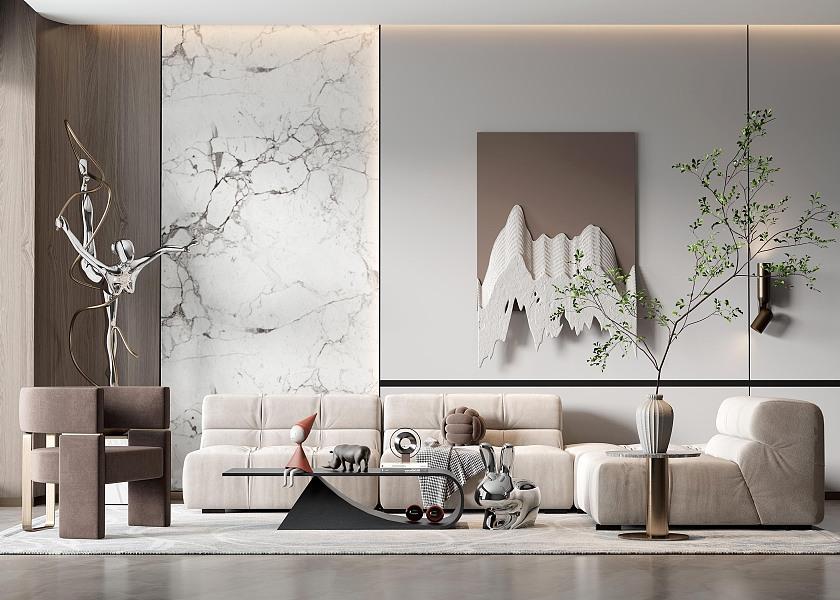 现代客厅-1040039
