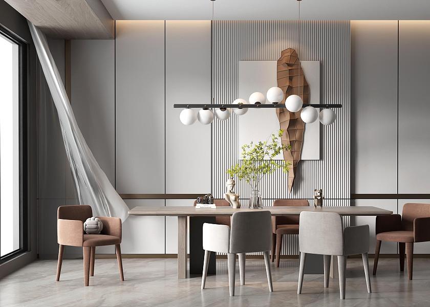 现代餐厅-1043214